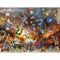 Pacote De Personagem Pokémon Lendários Pokémon Virtuais X/y