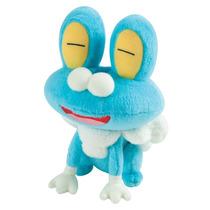 Pelúcia Pokémon Froakie Happy 20cm Original