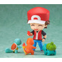 Pokemon Nendoroid Treinador Red Tcharmander Bulbasaur Squirt
