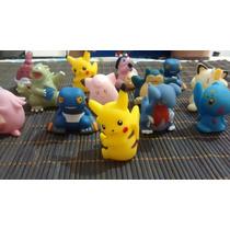Miniaturas Encapsuladas Pokemom Grande 5cm Pcte Com 50un