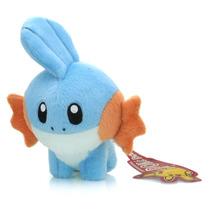 Pelúcia Mudkip 15 Cm Da Nintendo - Pokémon X E Y - Novo