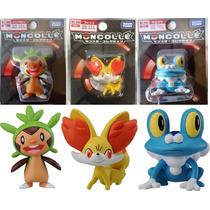 Boneco Pokemon X/y - Chespin, Fennekin Ou Froakie - Escolha!