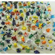 Kit Com 20 Miniaturas Bonecos Pokemon Aleatórias.