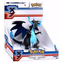 Brinquedo Pokemon Mega Charizard X - Articulado