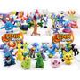 20 Miniaturas Pokemons + Pokebola Pokemon Pikachu Charizard