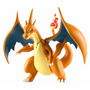 Pokemon Battle Action - Mega Charizard Y - Articulado - Tomy