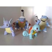 Miniatura Boneco Lote Pokémon P/ Colecionadores Kit Squirtle
