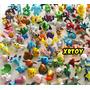 Kit 24 Pokémons Sortidos Miniaturas