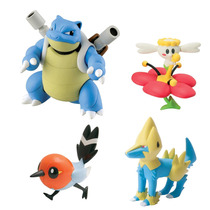 Boneco Pokémon Xy Blastoise Flabébé Fletchling Manectric