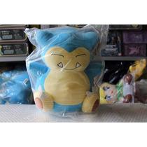 Boneco Pelúcia Pokemon Snorlax! 30cm!
