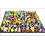 Kit Pokémom De 144 Bonecos Miniatura P/ Colecionadores