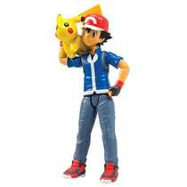 Pokemon Xy Ash + Pikachu Takara Tomy Treinador