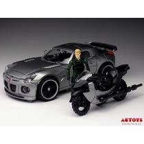 Carro Robo Transformers Jazz - Captain Lennox - Frete Grátis