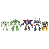 Transformers Cyberverse- Pack 5 Transformers - Hasbro Novo