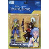Kingdom Of Hearts - Riku & Captain Hook - Riku E Cap Gancho