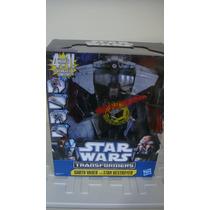Transformers Star Wars Darth Vader 4 In 1 Novo