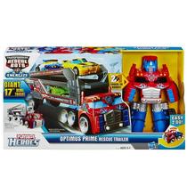 Trasnformers Rescue Bots - Optimus Prime Trailer - Hasbro