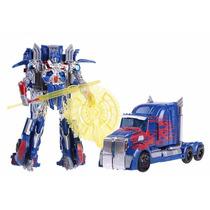 Transformers Filme 4 Platinum Optimus Prime Edição Especial