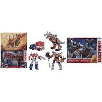 Transformers Optimus Prime & Grimlock - Platinum Edition