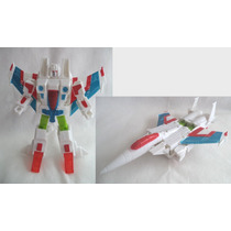 Boneco Transformers Vira Avião A Jato Versão Anime