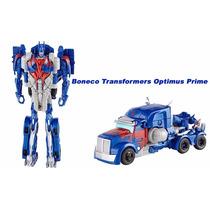 Boneco Transformers Optimus Prime 2 Em 1