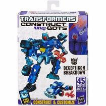 Transformers Construct-bots Scout Class Decepticon Breakdown