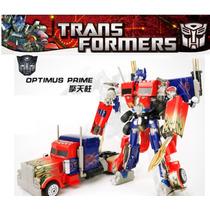 Transformers Optimus Prime Carro Robô Mod.grande 35cm