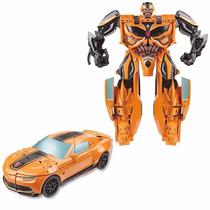 Boneco Transformers Bumblebee Transforma Em Carro 26cm