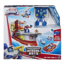 Transformer Rescue Bots Navio De Resgate / High Tide Hasbro