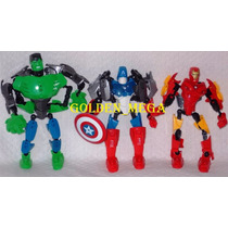 Super Heroes Aliance Para Transformar Em Um Só Robô Gigante