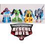 Bumblebee Transformers Rescue Bots Coleção Completa Kit 4