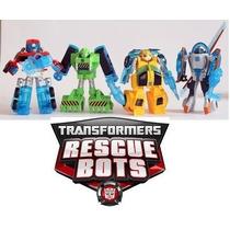 Bumblebee Transformers Rescue Bots Coleção Completa Kit 4