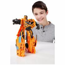 Boneco Carro Camaro Amarelo Transformers 4