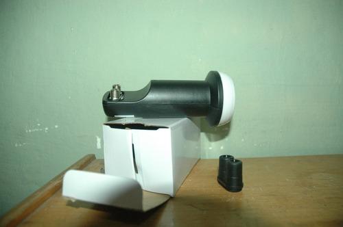 Antena 60cm Banda Ku + Lnb + 20mts De Cabo+fixação