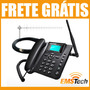 Kit Celular Rural 900 Mhz Telefone Mesa+ Cabo + Antena 17dbi