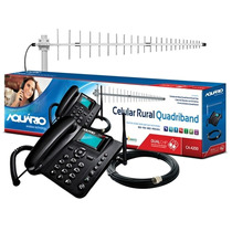 Kit Celular Rural Aquario Ca-4200 Dual Chip Quadriband
