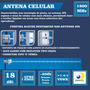 Antena Externa Celular Jfa 1800mhz 18dbi Compacta