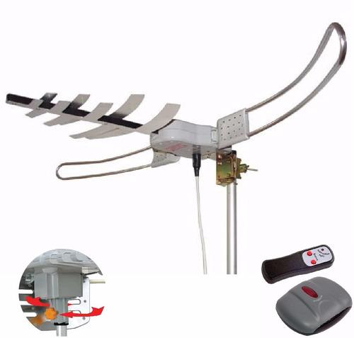 Antena Capte Direct Amplificada 35db 4em1 Vhf Uhf Digital Fm