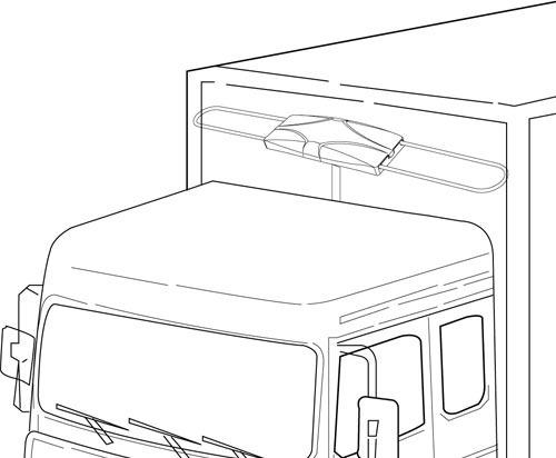 Antena Capte Estrada P/ Caminhão Motorhome Ônibus Barco Vans