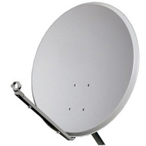 Kit Antena 60cm Banda Ku+20mts De Cabo+lnb Simples+parafusos
