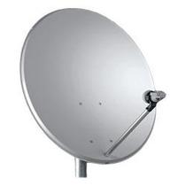 Antena 60 Cm + Lnbf Duplo Faixa Larga Sky + Cabos 20 M Rg