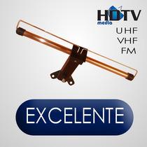 Antena Hdtv, Uhf,vhf, Tv Led,lcd,tv 3d,plasma,full Hd