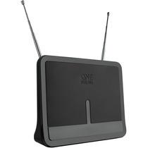 Antena Interna Amplificada C/ 42db Fm Vhf Uhf Isdb-t Sv9424