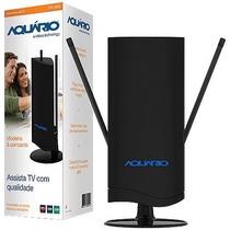 Antena Interna De Tv Aquario Dtv-4500 Vhf E Uhf