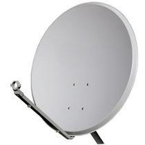 Antena 60cm Banda Ku + Lnb Duplo + 20mts De Cabo+fixação