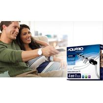 Antena Tv Externa Digital Globo Hdtv3000+cabo+suporte+manual