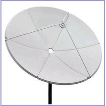 Antena Parabolica De Chapa 1,50mts Brasilsat