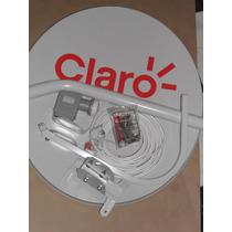 Antena 60cm Banda Ku + Lnb + 20mts De Cabo
