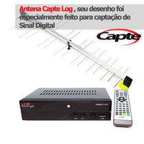 Kit Antena Externa Digital 34 Elementos+conversor (promoção)