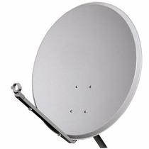 Antena Satélite Banda Ku 60cm Completa + Lnb Universal